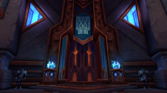Entrée de la Salle des formes - World of Warcraft