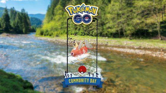 Pokemon GO Community Day du mois d'Aout avec Magicarpe Shiny