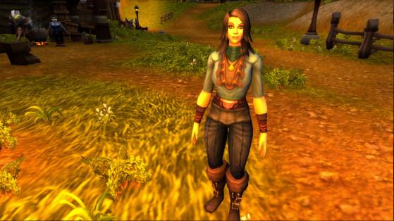 Céleste Pervenche à Hurlevent - World of Warcraft