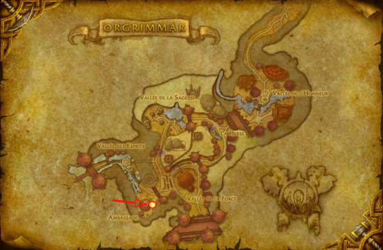 Eyla Guidepiste à Orgrimmar - World of Warcraft