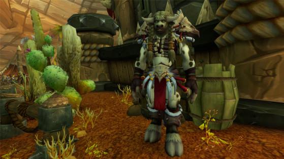 Localisation d'Eyla Guidepiste - World of Warcraft