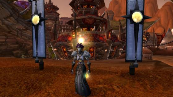 Une Soigneuse d'Argent de la Horde - World of Warcraft