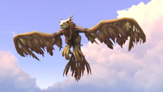 WoW Shadowlands : Forme de vol des Druides, Expert Cavalier