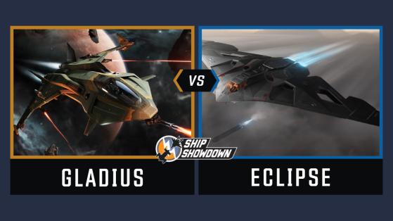 Star Citizen : Ship Showdown 2020 - Round 2 - Gladius vs Eclipse