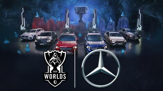Worlds LoL 2020 : Riot Games annonce Mercedes-Benz comme partenaire officiel