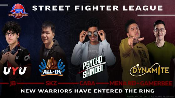 Street Fighter V ligue américaine : forfait de plusieurs joueurs