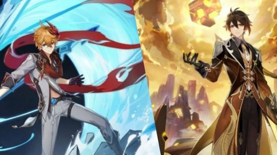 Genshin Impact : Patch 1.1, leaks des nouveaux personnages