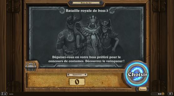 Bras de fer Hearthstone : Bataille royale de boss 3