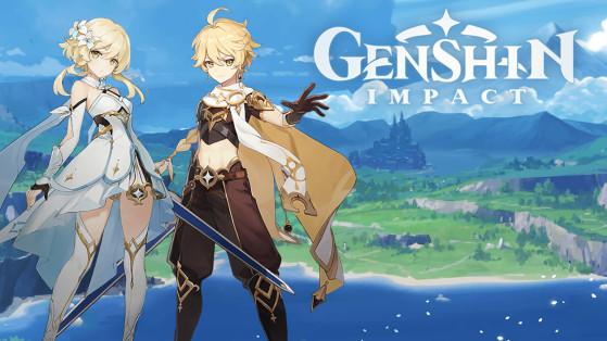 Genshin Impact : build du Voyageur Géo, armes et sets d'artefacts