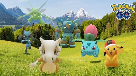 La semaine du dessin animé sur Pokémon GO
