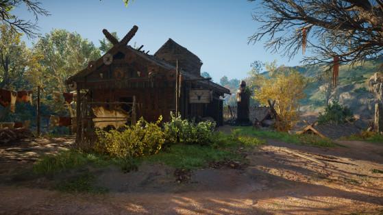 Guide AC Valhalla, colonie : Cabane de chasse et animaux légendaires