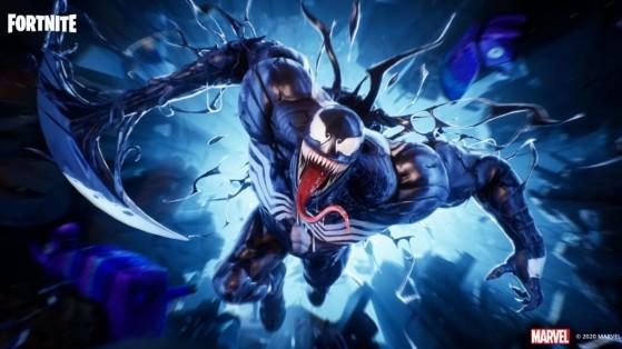 Fortnite : le skin Venom dans la boutique du 21 novembre 2020