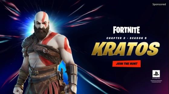 Fortnite : Kratos, le personnage de God of War, arrive pour la saison 5