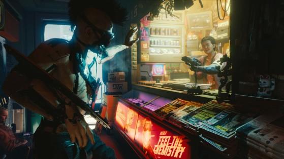 Éclats d'Avantages, guide Cyberpunk 2077 : Trésors cachés