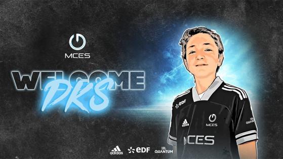 Fortnite : MCES recrute un nouveau joueur, DKS