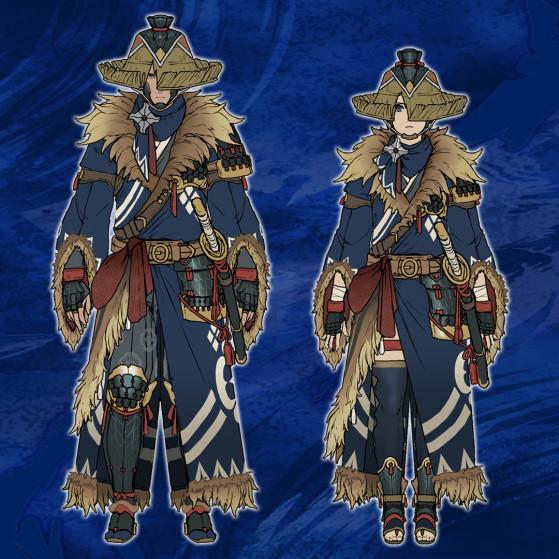 Armure spéciale Kamurai - Monster Hunter Rise