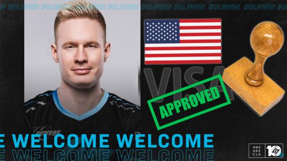 LoL : Broxah a enfin reçu son visa pour rejoindre les NA et CLG !