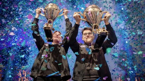 En 2018, le sacre de Aqua, Nyhrox, et Cooler Esports à la Coupe du monde de Fortnite. - Fortnite : Battle royale