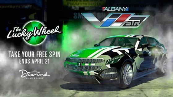 Albany V-STR, GTA 5 Online : Les promo de la semaine - Millenium