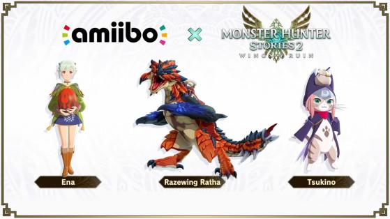 Amiibos Monster Hunter Stories 2 : Contenu bonus, précommande