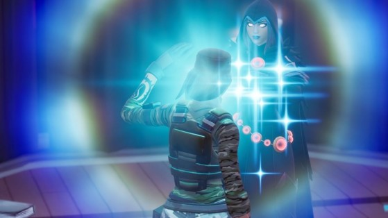 Fortnite : activer une faille achetée auprès d'un personnage, défi saison 6