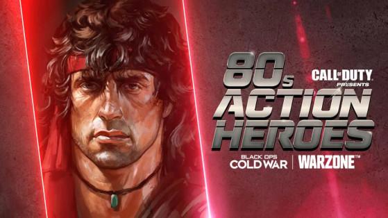 Black Ops Cold War Warzone : l'évent Action Hero des années 80