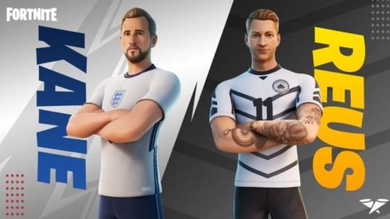 Fortnite x UEFA : skins Harry Kane et Marco Reus, dates et infos sur la coupe