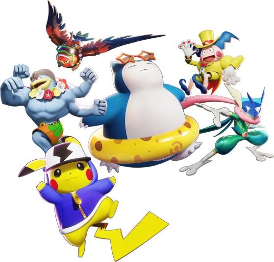 Un aperçu des skins disponibles dans Pokémon Unite - Pokemon Unite