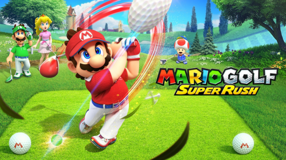 Test de Mario Golf Super Rush sur Nintendo Switch