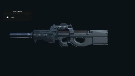 Quelle est la meilleure classe pour la P90 sur Warzone ?