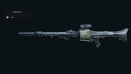Quelle est la meilleure classe pour la MG34 sur Warzone ?