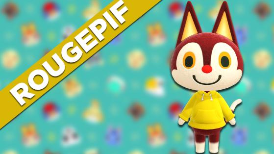 Rougepif sur Animal Crossing New Horizons : tout savoir sur cet habitant