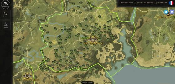 Crédit à Newworld-map - New World
