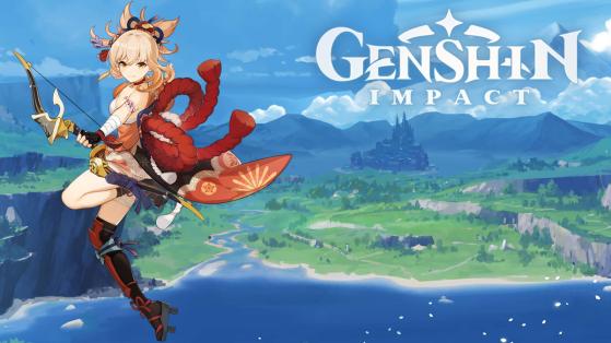 Genshin Impact : build Yoimiya armes et sets d'artefacts