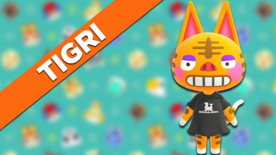Tigri sur Animal Crossing New Horizons : tout savoir sur cet habitant