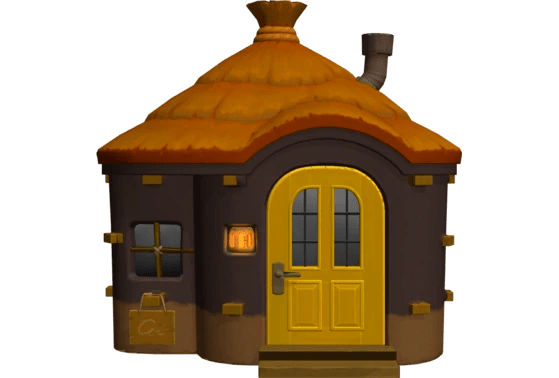 La maison de Tigri - Animal Crossing New Horizons