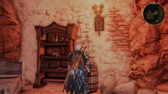 On a fini le jeu depuis un bail donc pas d'étoile mais allez à l'emplacement indiqué sur le radar en haut à droite. - Tales of Arise