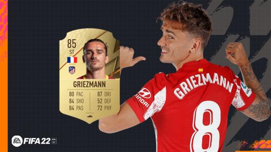 FIFA 22 - Les notes de l'Atletico Madrid avec un Griezmann qui chute !