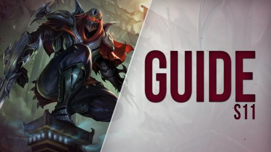 Zed Mid S11 : build, runes et stuff - Guide LoL