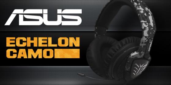 Casque Asus Echelon Camo Edition