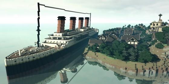 Minecraft Hollywood : Le Titanic