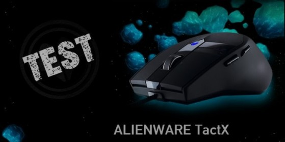 Test Souris Alienware TactX