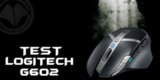 Logitech G602 test souris