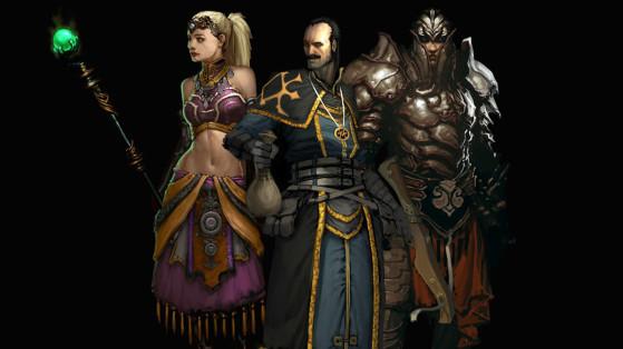 Diablo 3 : Guide Solo & Compagnons, templier, enchanteresse, brigand