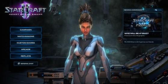Guide de l'interface de StarCraft II