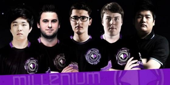 Nouvelle équipe Millenium LoL LCS