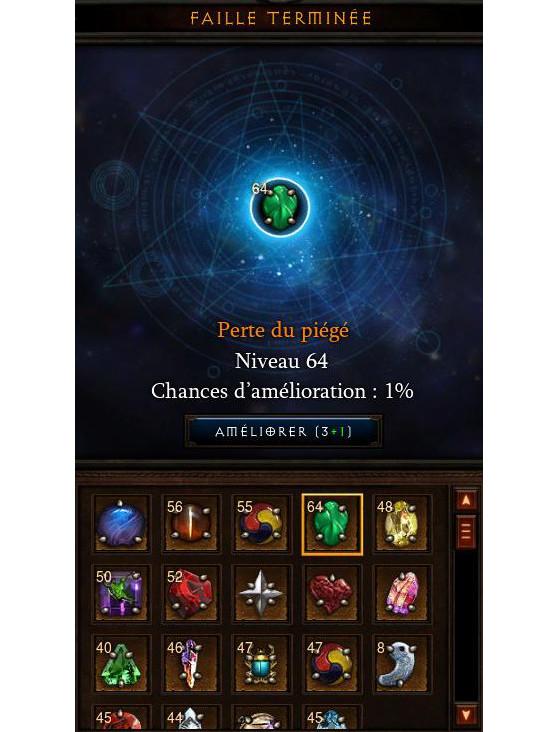 Amélioration des gemmes légendaires - Diablo 3