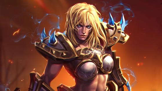 Heroes of the Storm : Guide Sonya, Build berserker