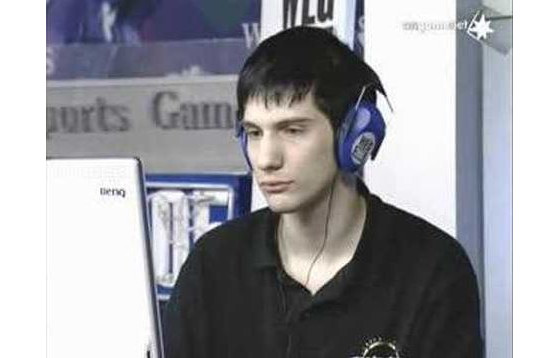 oD lors de son match face à Moon aux WEG 2005 - Warcraft 3