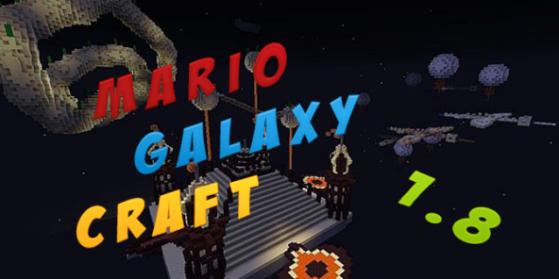 Map : Mario Galaxy Craft